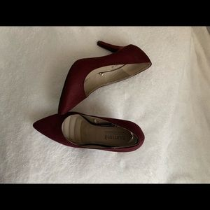Burgundy Pointy toe Shoes